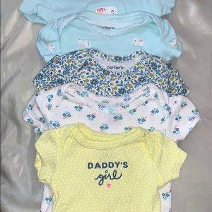 Carter's 5-pack bodysuits (newborn)